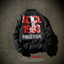 men jacket Han edition easing students coat male lovers fall 1993 digital 107 p78 bomber jacket(China)