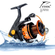 FDDL New Carbon Fiber Body & Metal Spool Super Light 12+1BB Spinning Fishing Reel for Sea Fishing Free Shipping