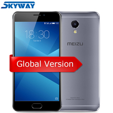 "Original Meizu M5 Note 3GB RAM 16GB/32GB ROM 4G LTE Global Version Helio P10 Octa Core Cell Phone 5.5"" 1080p Fingerprint"