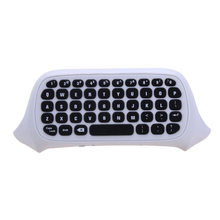 2.4GHz Wireless Mini Portable Keyboard Game Controller Remote Control with soft silicone gel button for Xbox One game console(China)