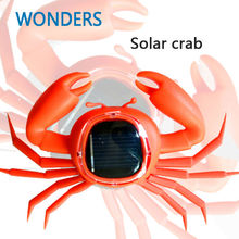 ids Solar Toys Power Energy Solar crab Children Teaching Fun Gadget Toy Gift For Kids Solar Energy Toys