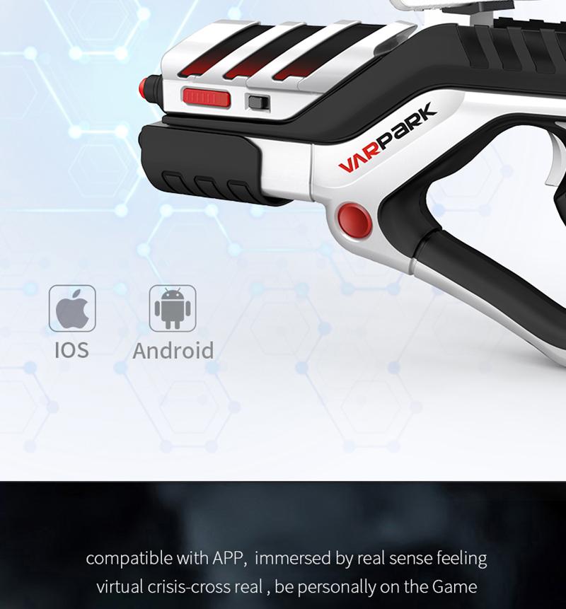 Püstol telefoniga tulistamismängude mängimiseks