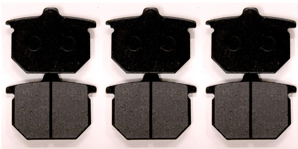 6 Pcs BRAKE PADS Fits HONDA CB900 CBX CB750 GL1000 GL1100 CX500<br>