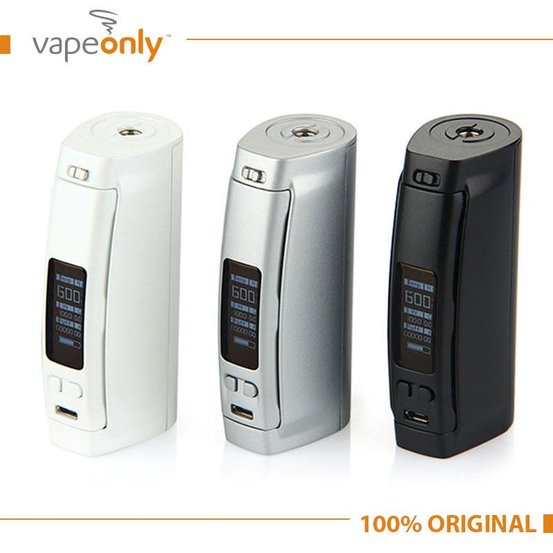 100% Original WISMEC Presa TC 100W Temp Control Mod E cigarettes Vape MOD for Replaceable 26650/18650 Battery Without Battery<br><br>Aliexpress