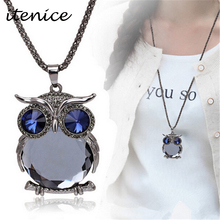 2015 New owl long section of the decorative sweater chain South Korea jewelry accessories pendant fashion new necklace for woman