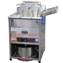 Efficient automatic temperature control RY-MHGF-23XF frying machine Vertical frying stove Gas fryer necessary Gas fired furnace(China)