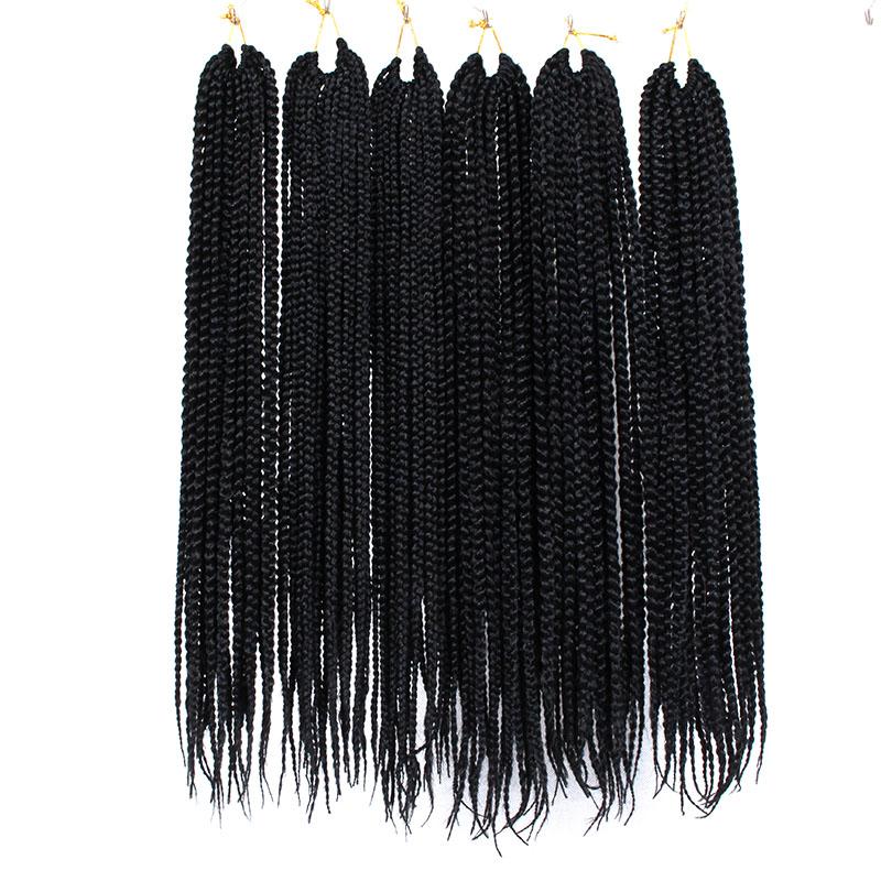 3s crochet box braids synethtic hair  (39)