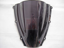 New bike motorcycle/motorbike Windshield/Windscreen Smoke For Honda CBR600RR CBR 600RR CBR 600 RR F5 2003 2004 03 04 ABS(China)