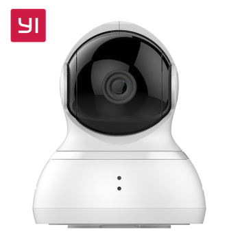 YI Dome Camera Pan/Tilt/Zoom Wireless IP Security Surveillance System HD 720p Night Vision EU Edition Smart Home System Cam App