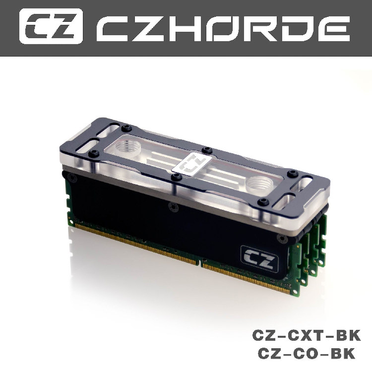 CZM-XT RAM waterblock Compatible with INtel platform memory waterblock <br>