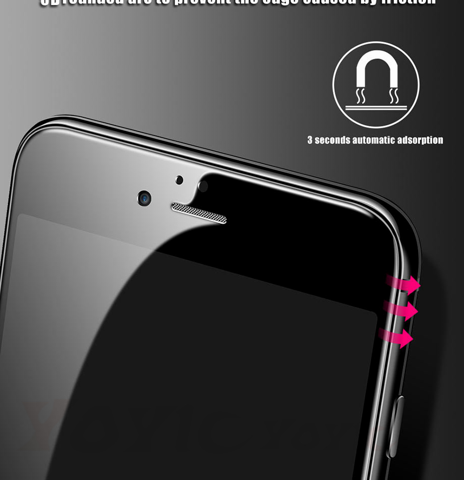3 For iPhone 5 5s SE Glass For iPhone 6 6s Glass For iPhone X 10 Glass For iPhone 7 7 Plus glass for iphone 8 8 plus glass on the for iphone 7 6 8 5s Protective glass on the iphone 7 6 5s 8 (2)