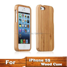 High Quality Bamboo Wood Case Cover For iphone5 protector madera Hard Back Cover Case Protector For iphone 5 5S capa bambu 5s