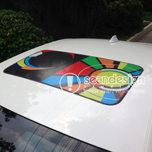 Rossi SUN MOON D-D-P Auto Roof  Decal Sticker One way vision sticker
