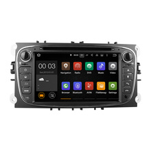 Newest quad-core android5.1.1 car multimedia player with16G flash 3G WiFi IGO GPS fit for old Ford Mondeo Focus S-Max Galaxy