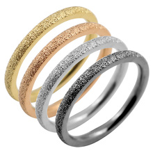 4 Color Available Dull Polished Fashion Ladies Jewelry Simple Thin Rings Midi Mid Finger Knuckle Ring Set for Woman