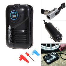 Portable 12V 250PSI Car Tire Inflator Pump Auto Car Pump Air Compressor Car Motor Tyre Air Inflator Motorcycle Car Accessories(China)