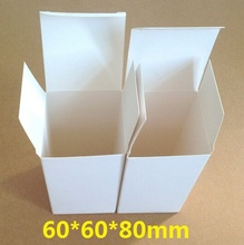 White 60*60*80mm/Vintage DIY Multifunction Green Blank Kraft paper Card box/Gift box/packag box/Clean up box/