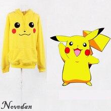 New 2017 Women Yellow Pokemon Pikachu Cosplay Costume Neighbor Totoro Hoodie Sweatshirt Sudaderas Mujer