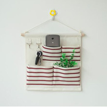 Kids Bed Rooms Nursery Hanging Storage Bags for Home Decorations Organizer Pocket Closet Bag Organizer