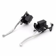 "Motorcycle Brake Clutch Levers for Yamaha YP250 MAJESTY 250 1999-2005 1Pair Chrome 7/8""( 22mm) Handlebar Accessories(China)"
