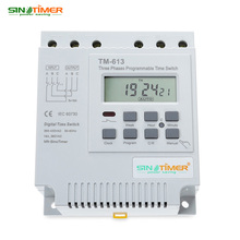 SINOTIMER 380V LCD Digital Multipurpose Three Phases Programmable Control Power Timer Switch(China)