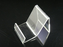 Free Shipping Clear Acrylic mobile cell phone display stand holder rack 20PCS