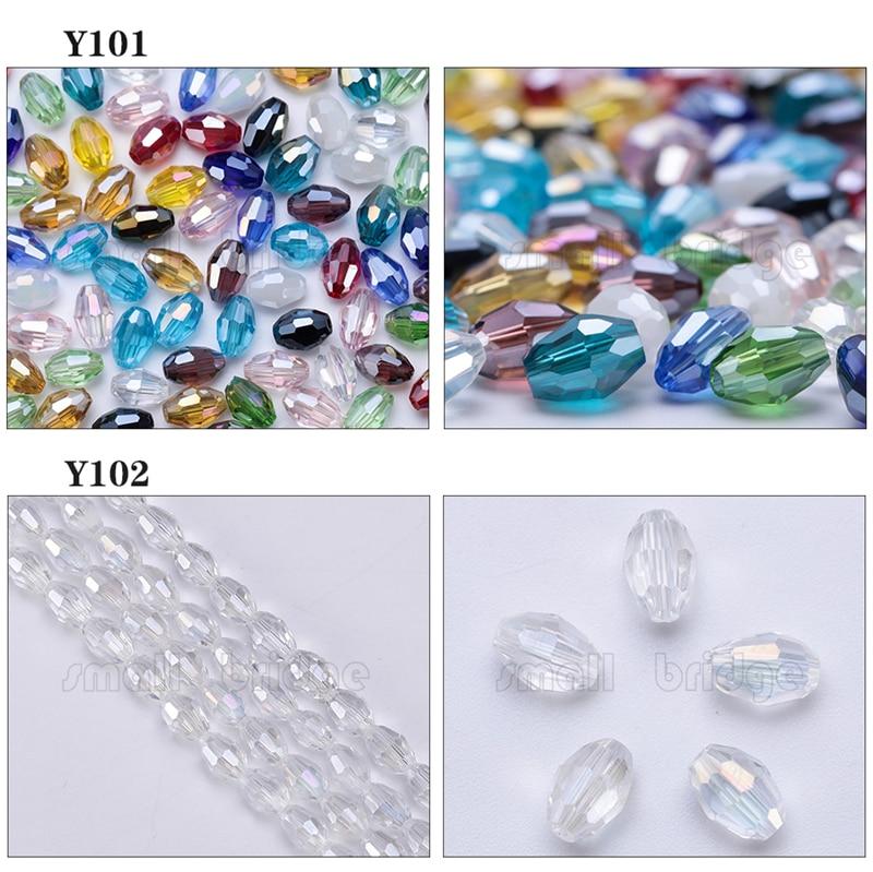 Glass Rice Beads (1)
