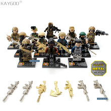 Kaygoo World War II UK British 8th Army North African Campaign figure Military Building Blocks Toys