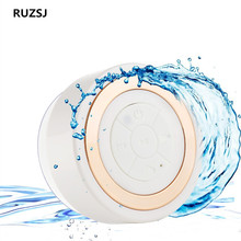 Hot Portable Subwoofer Waterproof Shower Speaker Wireless Bluetooth Handsfree Receive Call Music Suction Mic For iPhone Samsung
