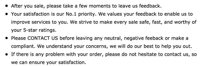 5.feedback details