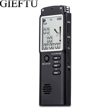 GIEFTU T60  Professional 8GB Time Display Recording Digital Voice Audio Recorder Dictaphone MP3 Player