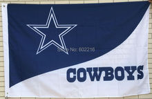 Dallas Cowboys Team Helmet Large Outdoor Flag 3ft x 5ft Football Hockey Baseball USA Flag(China)
