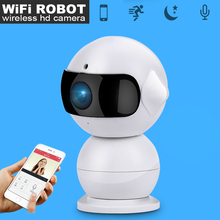 WiFi Wireless Robot Camera P2P Night Vision Mini iP Camera HD 960P Indoor Home Security Surveillance Hidden Monitor Camera