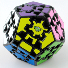Lanlan Gear Megaminx Speed Magic Cube Puzzle Game Cubes Educational Toys For Kids Children Birthday Gift