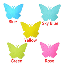 Happy Sale High Quality Butterfly Silicone Waterproof Oil-proof Insulation Placemat oct106