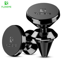 Buy FLOVEME Universal Magnetic Car Phone Holder 360 Degree GPS Navigation Air Vent Magnet Mount Stand Holder iPhone SE 7 6 S 8 X for $1.79 in AliExpress store