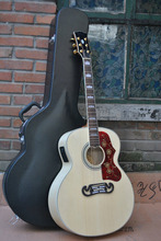 Acoustic Guitar SJ200 Natural Guitar Acoustic with Fishman Pickups Acoustic electric Guitar in stock