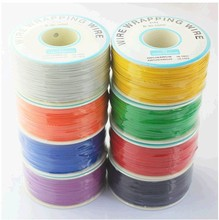 Hot sale! 305 meters long electrical wire, wrapping wire high quality 30awg ok line q9 electric cable(China)