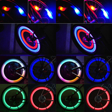 4 Kinds Patterns Bicycle Tire LED Flash Light LED Cycling Bike Wheel Spoke Lamp Bicycle Cycling Light flashlight for bicycle