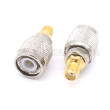 1pcs TNC male to SMA female adapter RF connector Free shipping(China)