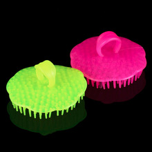 2pcs New Super Professional Head Hair Shampoo Scalp Massager Brush Comb