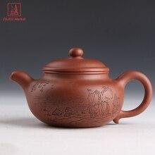 Аутентичные Исин горшок Высокое качество китайский глиняные горшки ручной Zisha чайник(China)