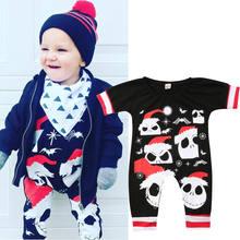 0-24 m halloween traje para niños ropa bebé recién nacido muchachas del  muchacho de la historieta Romper Jumpsuit ropa trajes li. 18012aac759