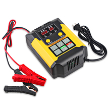 Full Automatic Pulse Battery Charger Automatic Intelligent Smart Charger Battery Car Auto Motorcycle Pulse Repair Universal