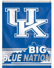 Kentucky Wildcats UK BIG BLUE NATION American Outdoor Indoor House Baseball College Flag 3X5 Custom USA Any Team Flag