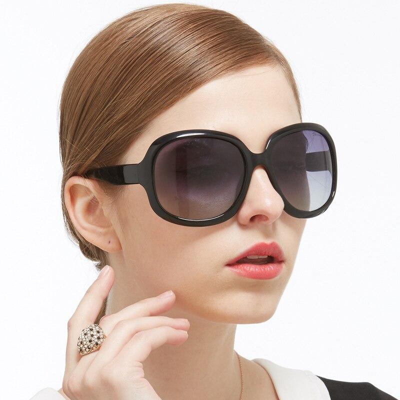 Big Size Sunglasses Women Polarized Famous Brand Design Oversized Sunglasses Famale  New Fashion Anti Reflective Sun Glasses 227<br><br>Aliexpress