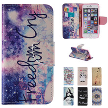 New Cartoon Love Perfume Bottle Wallet Leather Flip Fundas Brand Case For Apple Iphone 4 4s 5 5s 5c SE 6 6s 6plus 6s Plus Cover(China)