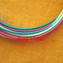 Data transmission 1.0*2.2mm/PMMA plastic optical fiber cable wtih color PE jacket Green/Yellow/Red color options