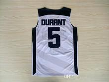 5 Kevin Durant 2012 Dream Team USA London Games basketball Jerseys Throwback Stitched(China)
