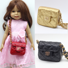 1pcs single-shoulder bag for 18 Inch American Girl Doll backpack accessories girl best gift free shipping